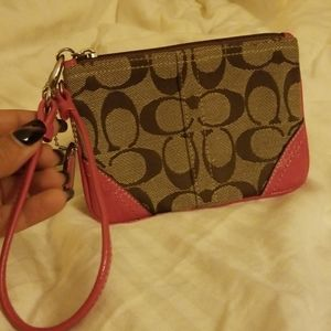COACH Small Logo Wristlet